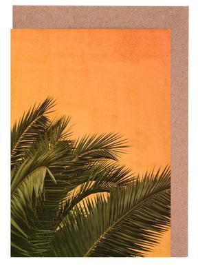 Palm II -Grußkarten-Set