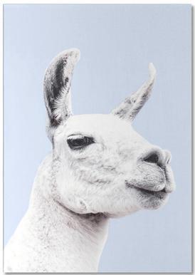 Blue Llama II Notepad