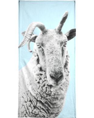 Blue Sheep serviette de plage