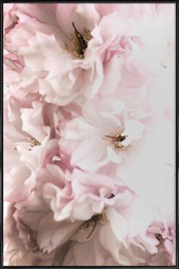 Pink Flowers Framed Poster