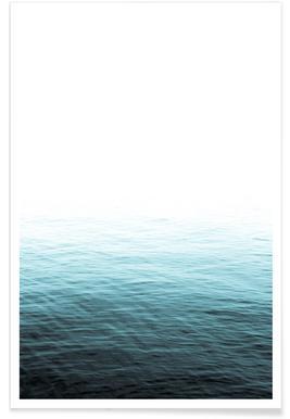 Vast Blue Ocean Poster
