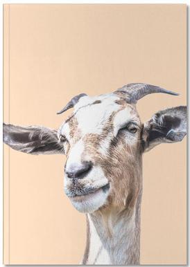 Orange Goat Notebook