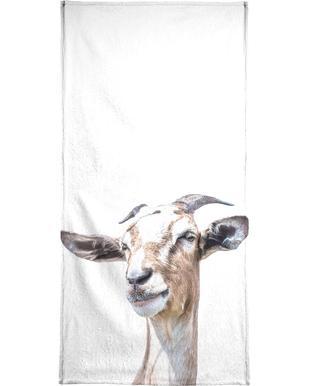 White Goat -Strandtuch