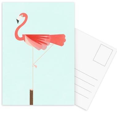 Flamingo Postcard Set