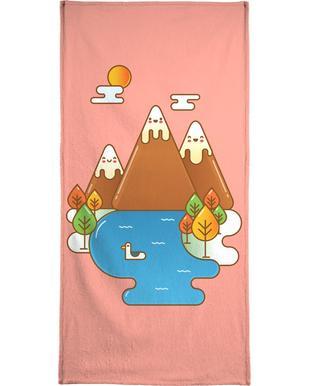 Sweet Mountain Bath Towel