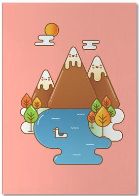 Sweet Mountain Notepad