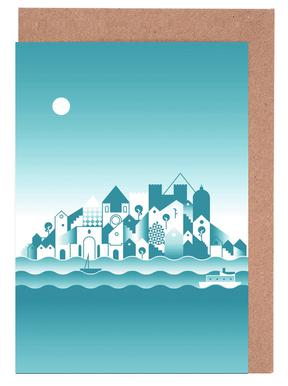 Lisboa Greeting Card Set