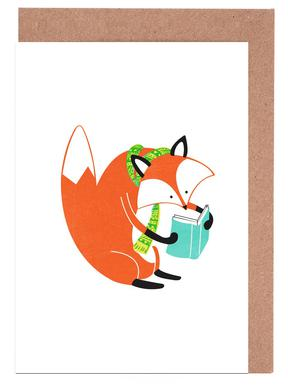 Reading Fox Greeting Card Set