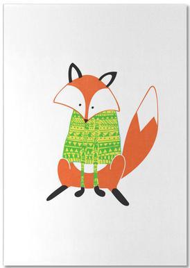 Shirt Fox Notepad