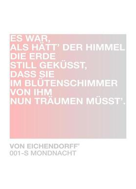 Mondnacht Light 01 -Leinwandbild