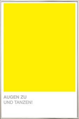 Launig 09 -Poster im Alurahmen