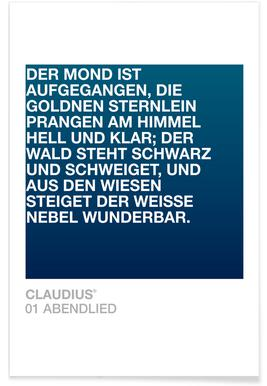 Abendlied 01 -Poster