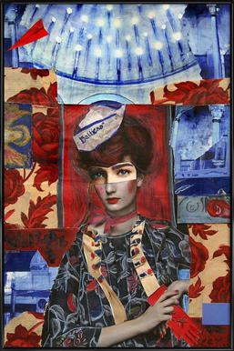 Königin der Lüfte Framed Poster