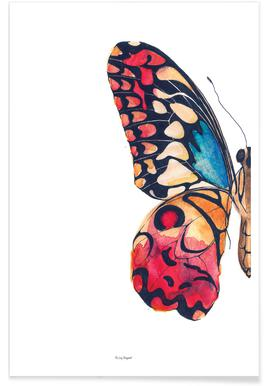 Butterfly Left Poster