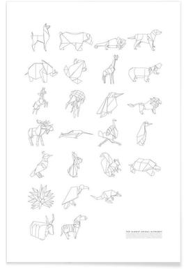 Almost Animal Alphabet -Poster