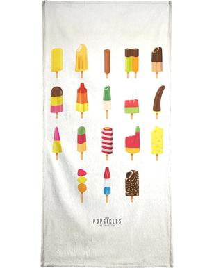 The Popsicle Project handdoek