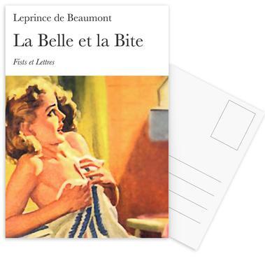 La Belle Et La Bite cartes postales