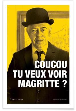 Magritte affiche