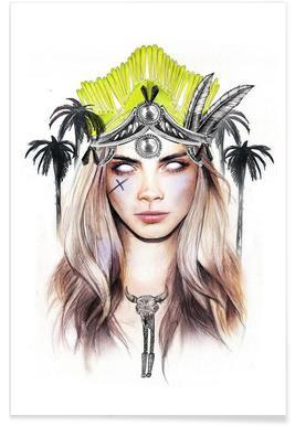 Queen Cara Poster