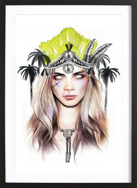 Queen Cara Framed Print