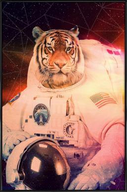 Astrotiger Framed Poster