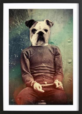 Bad Dog Framed Print