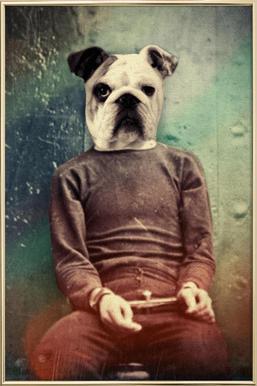 Bad Dog poster in aluminium lijst