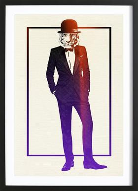 Classy Tiger Framed Print