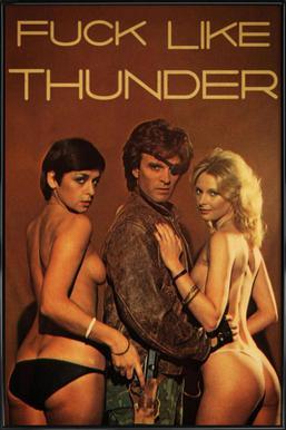 Like Thunder Framed Poster