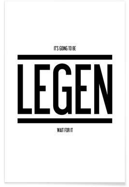 Legendary 1 - Premium Poster