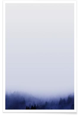 Bluescape 1 - Premium Poster