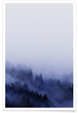 Bluescape 2 - Premium Poster