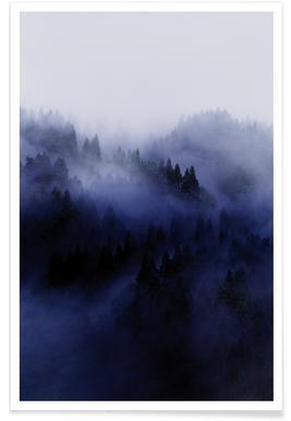 Bluescape 3 - Premium Poster