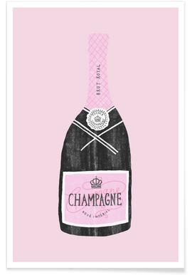 Champagne -Poster