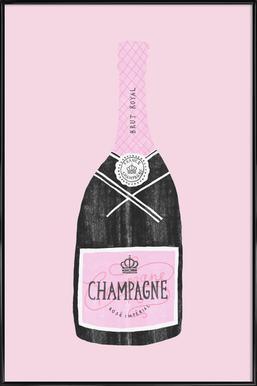 Champagne Framed Poster