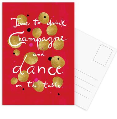 Dance Postcard Set