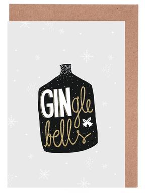GINgle Bells Greeting Card Set