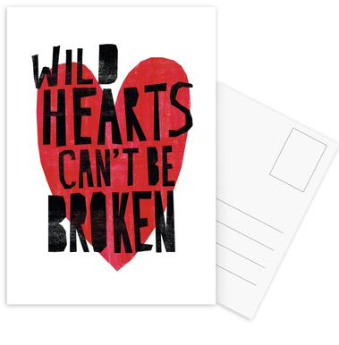 Wild Hearts Postcard Set
