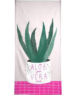 Aloe Vera Bath Towel