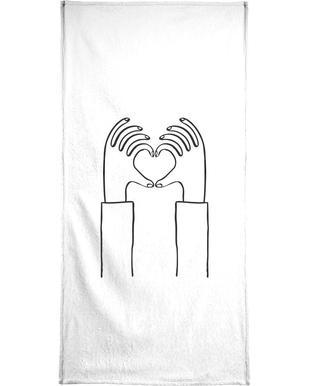 Heart You Bath Towel