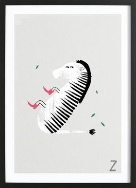 ABC Kids - Z Framed Print