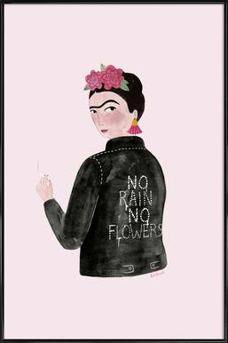 Frida Rocks Framed Poster