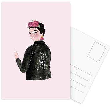 Frida Rocks -Postkartenset