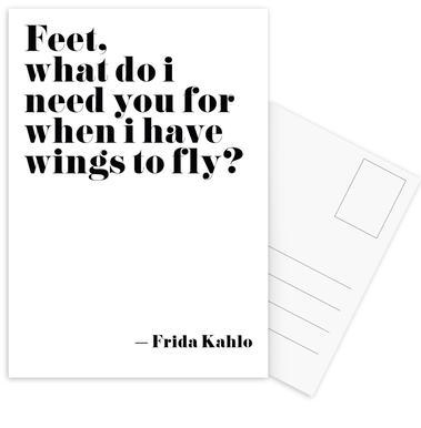 Frida Says -Postkartenset