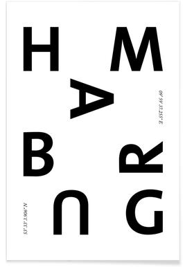 Cities - Hamburg affiche