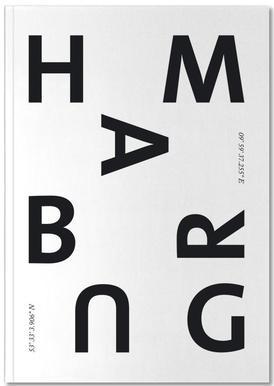 Cities - Hamburg Notebook