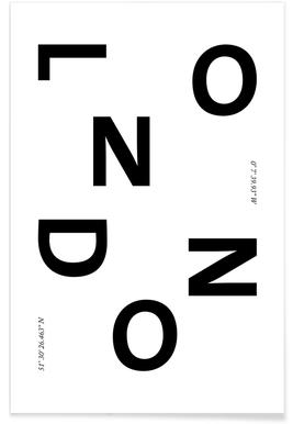 Cities - London affiche