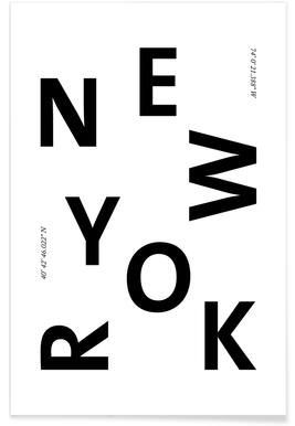 Cities - New York affiche