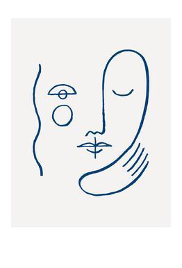 Faces No. 1