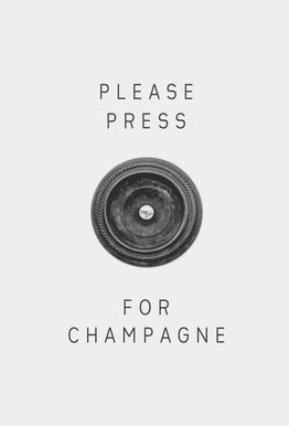 Please Press -Acrylglasbild